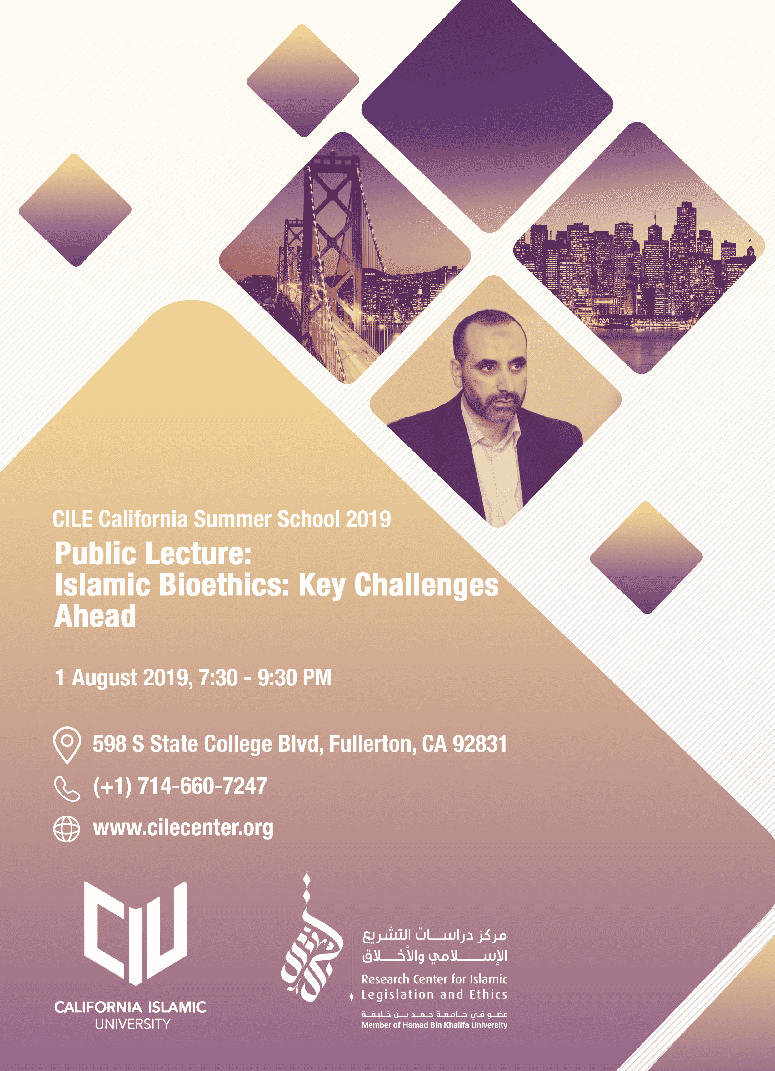 Invitation Lecture: Islamic Bioethics: Key Challenges Ahead