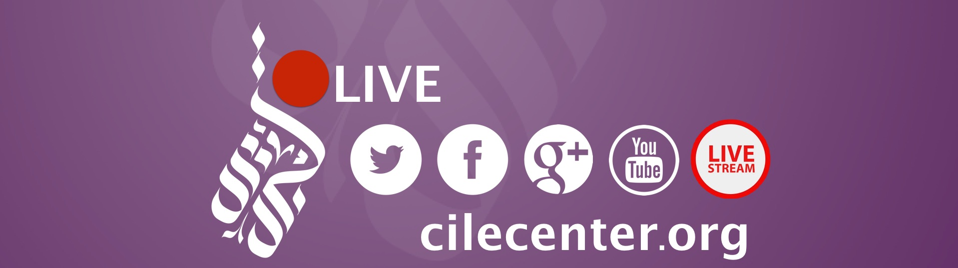 Follow #CILE2019 on Social Media and Watch the Livestream