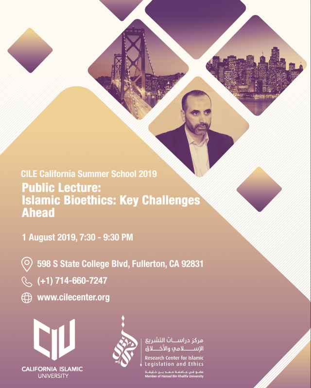 Public Lecture: Islamic Bioethics, Key Challenges Ahead