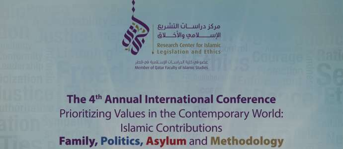 04/2016 Prioritizing Values in the Contemporary World: Islamic Contributions