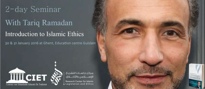 "01/2016 Seminar ""Introduction to Islamic Ethics"" Ghent, Belgium"