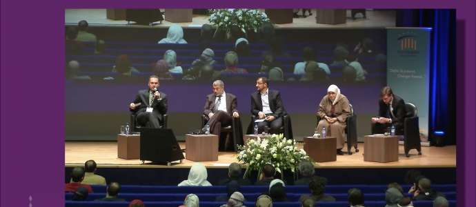 Embedded thumbnail for 3/4 Islamic Discourse: Dr Ahmed Jaballah, Dr Jonathan Brown, Dr Heba Raouf Ezzat, Dr Alarbi Becheri