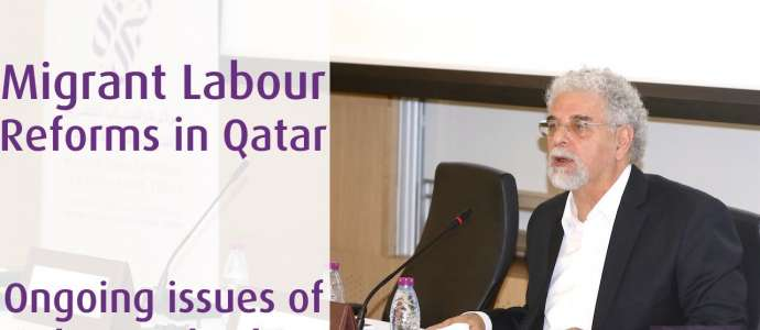 Embedded thumbnail for 05/2017 Migrant Labour Reforms in Qatar: ongoing issues of rights and ethics