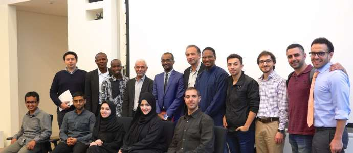 "Embedded thumbnail for Day 1/3: Dr Tariq Ramadan Speaking on ""The Principles of Leadership in Islam"" to QFIS Students"