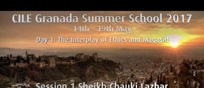 "Embedded thumbnail for D1S1 Chauki Lazhar ""Introduction to the Discipline of Maqasid with Special Reference to Ethics"""