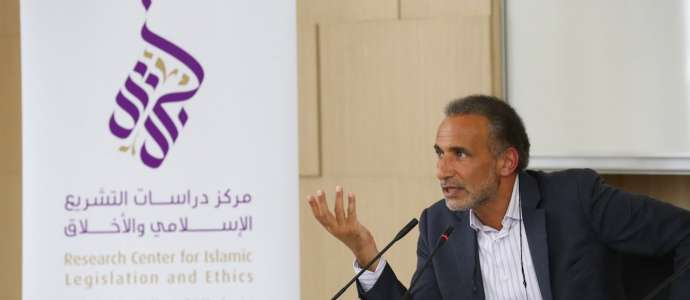 "Embedded thumbnail for Dr Tariq Ramadan ""Islamic Studies: The Need for Intellectual and Spiritual Revolution"" 18/11/2015"