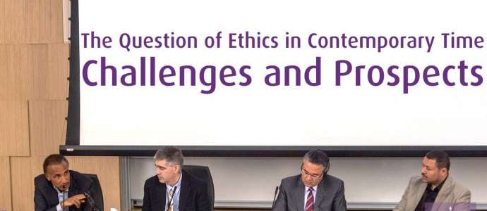 Embedded thumbnail for The Question of Ethics in Contemporary Time: Challenges & Prospects