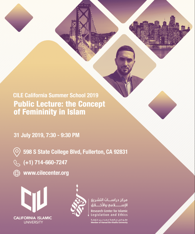 Public Lecture: The Concept of Femininity in Islam