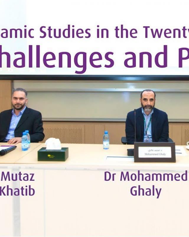 Embedded thumbnail for 03/2018 Islamic Studies in the Twenty-first Century: Challenges and Prospects